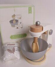 NIB Pottery Barn Kids Wooden appliance: mixer (small spot) toy kitchen