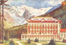 796) GRESSONEY LA TRINITE (AOSTA) GRAND HOTEL BUSCA THEDY. VG.