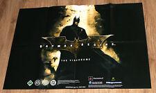 Batman Begins Video Game rare Promo Poster 84x59.5cm Playstation 2 Xbox GC