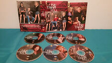 One Tree Hill - The Complete Second Season (DVD, 2009, 6-Disc Set) Case & discs