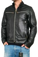 G-Star Road Leather JKT Herren Lederjacke Gr.L Black Biker Style D00697.7370.990