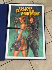 TOMB RAIDER/WITCHBLADE LTD ED GERMAN PORTFOLIO