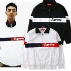 SUPREME 15SS Court Jacket jacket WHITE BLACK M-2XL free shipping