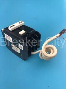 GE THQL2150GFI 50 Amp 2 Pole THQL-GFCI Circuit Breaker GFCI GFI 240V *CHIP READ