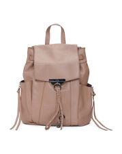 $398 KOOBA Margot Leather Backpack Bag Rouge Brown NWT