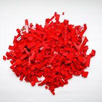 LEGO Red Bricks - 500g of Mixed Red Bricks Parts & Pieces Bundle Job Lot VGC Set