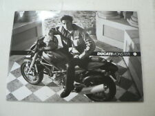 D966 BROCHURE DUCATI MONSTER MODELS ENGLISH/ITALIAN 30 PAGES S4,900,750,620