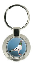 Racing Pigeon Key Ring