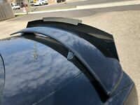 2 Piece 2011-14 Dodge Charger Rear Wicker Bill wickerbill Spoiler W/ Rivnut Tool