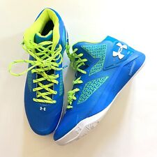 Under Armour Clutchfit Charged Men Sneakers basketball Sz 11.5 1258143-481 blue