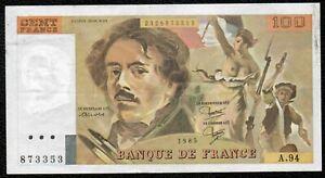100F Delacroix 1985