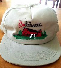 VTG-1980 21st Century Genetics Farm Barn foam trucker hat  USA K Products