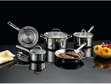 T-Fal Stainless Steel 12-Piece Cookware Set Fast Release Interior Induction-Safe