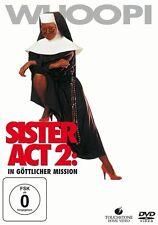 DVD SISTER ACT 2 # Whoopi Goldberg, Maggie Smith, James Coburn ++NEU