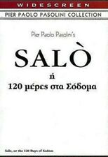 SALO (The 120 days of Sodom) PIER PAOLO PASOLINI - CULT DVD NEW