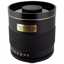 F/8 Telephoto Camera Lenses for Canon