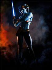 Star Wars Cad Bane Clone Wars Original Art Print signed by artist Scott Harben