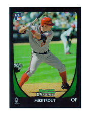 2011 Bowman Mike Trout #101 Baseball Card