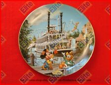 "Disneylands 40th Anniversary ""Mark Twain Riverboat"" Collector Plate - NIB"