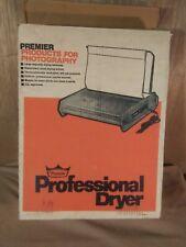 Premier Professional Photo Print Dryer Model Tc-110