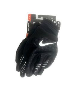 Nike Therma-FIT Elite 2.0 Run Gloves Black/Silver Men's Sz. Large