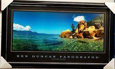 KEN DUNCAN FANTOME ISLAND PRINT FRAMED LANDSCAPE PANOGRAPHS