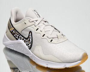 Nike Legend Essential 2 Premium Women's Bone Gym Cross Training Shoes Sneakers