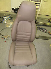 Porsche 944 electric seat nicely recovered This is spectacular!
