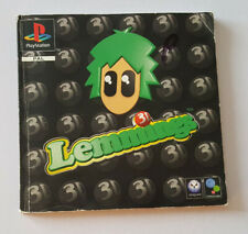 Lemmings 3D manual only for playstation 1 No game or case.