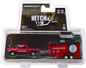 Greenlight Hitch & Tow Bridgestone Service Center Ram 2500 & Car Hauler 32170-C