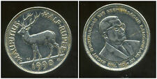 ILE MAURICE half  rupee  1990  ANM   ( bis )