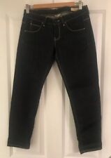 """BNWOT GUESS BEVERLY SOPHIE SKINNY BLUE JEANS SIZE 10 26"""" SHORT"""