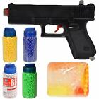 Kids Toy Pistol Gun EVA Glue Crystal Gel Water Soft Bullet Sports Indoor Outdoor