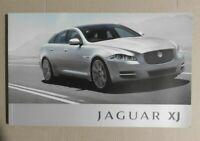 Jaguar XJ Full UK Brochure 2011 / 2012
