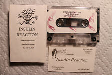 Insulin Reaction EP US orig private demo cassette 1992 goth new wave
