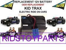NEW! KID TRAX DODGE REPLACEMENT 12 VOLT BATTERY FOR KID TRAX CARS AND TRUCKS