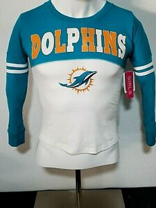 25 Lot Qty. - Miami Dolphins Official NFL Football Girl's Jersey Style Shirt 7-8