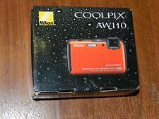 Open Box - Nikon COOLPIX AW110 Camera 16MP Camera - ORANGE - 018208264124