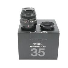FUJI XF35MM F2 R WR BLACK