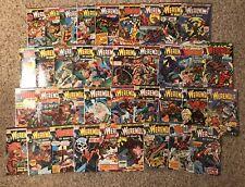 Werewolf by Night 3-43 Run Set 1973 Marvel Comics 37 Moon Knight App VG/F More