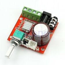 PAM8610 Hi-Fi Audio Stereo Amplifier 12V 2X10W Board Module Dual D Channel .