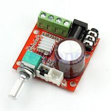 PAM8610 Hi-Fi Audio Stereo Amplifier 12V 2X10W Board Module Dual D Channel .