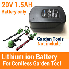 20V Lithium-Ion Battery Spare Replacement Fit Baumr-AG E-Force 200 Li-Ion Series