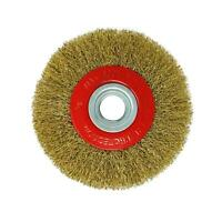 6″ Inch 150mm Wire Brush Wheel With 10pc Adaptor Rings for Bench Grinder