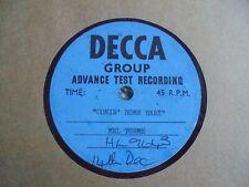 "Mel Torme - Comin' Home Baby 1962 UK 7"" DECCA ACETATE MOD NORTHERN SOUL"