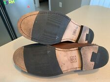 COLE HAAN Men's Brown Leather Tassle Loafers Size 10.5D
