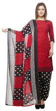 DivyaEmporio Faux Cotton  Unstitched Salwar Suit Dress Material (CS-43)