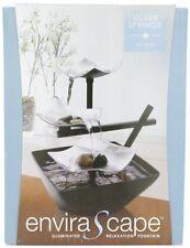 Relaxation Zen Garden Water Fountain Indoor Waterfall Table Top Home Illuminated