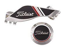 Titleist Japan Golf Cap Edge Clip Ball Marker AJBM71 Black