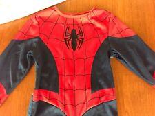 Vestito tuta bimbo di Spiderman Uomoragno travestimento carnevale 5-6 anni